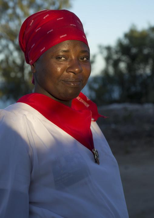 Priest Woman, Vilanculos, Mozambique