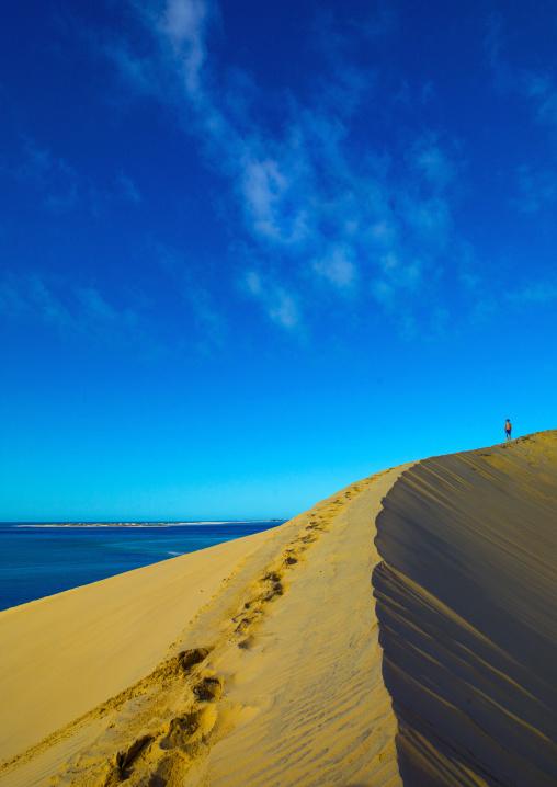 Sand Dune In Bazaruto National Park, Vilanculos, Mozambique