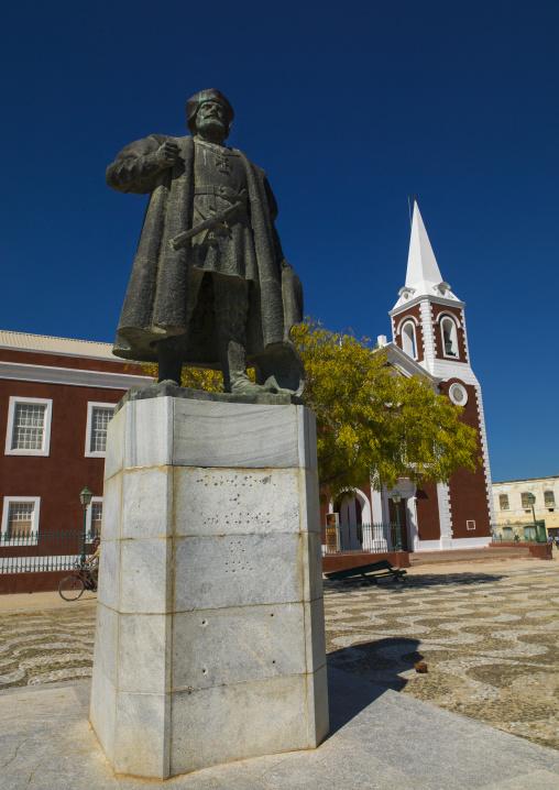 Vasco Da Gama Statue, Ilha de Mocambique, Nampula Province, Mozambique