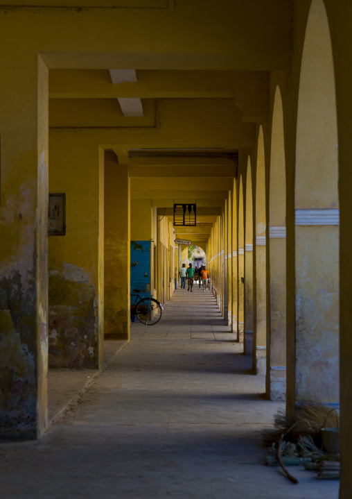 Arcades, Island Of Mozambique, Mozambique
