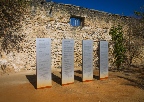 Garden Of Memory For Slave Trade, Island Of Mozambique, Mozambique