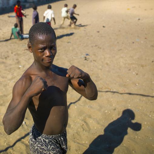 Young Musciular Man, Island Of Mozambique, Mozambique
