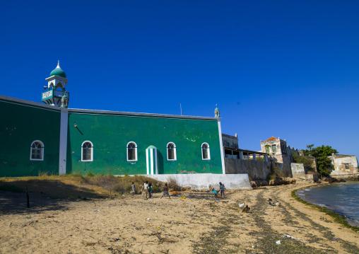 Green Mosque, Island Of Mozambique, Mozambique