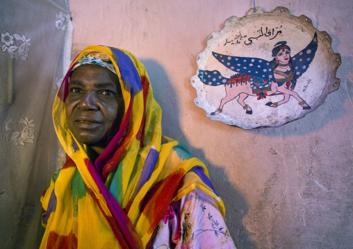 Muslim Woman, Island Of Mozambique, Mozambique