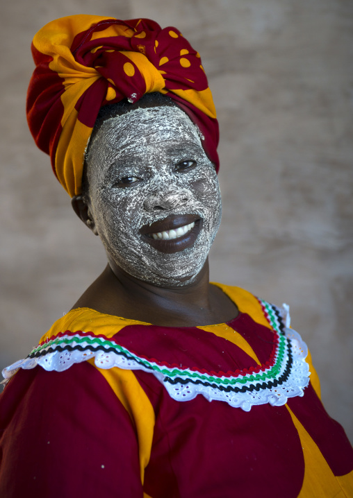 Woman With Muciro Face Mask, Ibo Island, Nampula Province, Mozambique