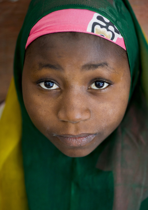 Muslim Girl, Island Of Mozambique, Mozambique