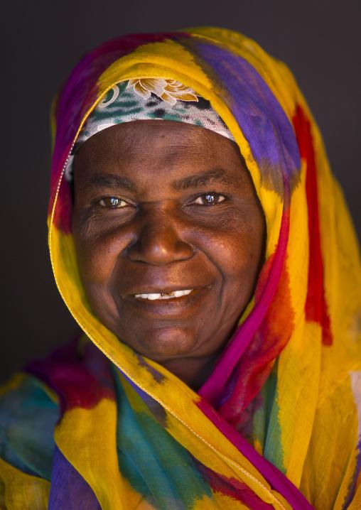 Portrait Of A Woman, Island Of Mozambique, Mozambique