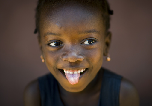 Young Girl, Island Of Mozambique, Mozambique
