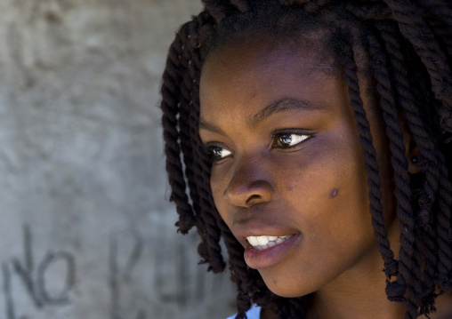 Beautiful Young Woman, Island Of Mozambique, Nampula Province, Mozambique