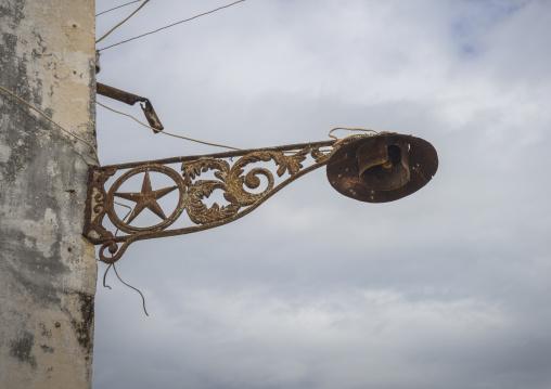 Old Lamp, Ilha de Mocambique, Nampula Province, Mozambique