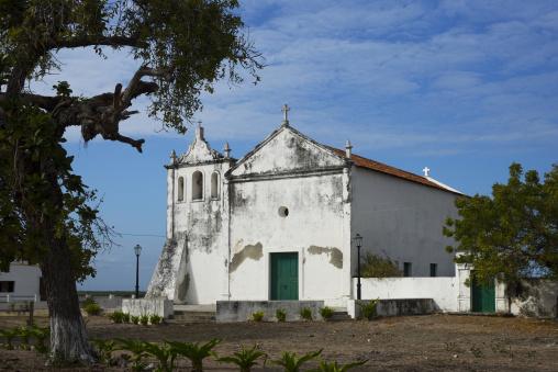 The Catholic Church Igreja De Nossa Senhora Rosaria, Ibo Island, Cabo Delgado Province, Mozambique