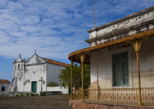 The Catholic Church Igreja De Nossa Senhora Rosaria, Ibo Island, Mozambique