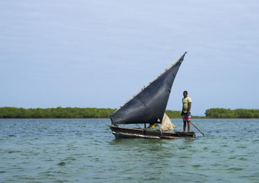 Dhow Sailing, Quirimba Island, Cabo Delgado Province, Mozambique
