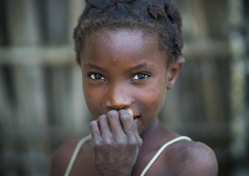 Shy Girl, Quirimba Island, Mozambique