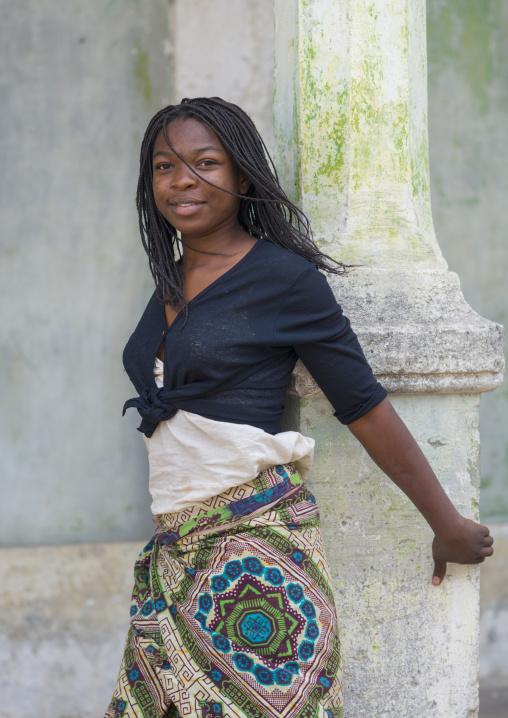 Beautiful Young Woman, Ibo Island, Mozambique