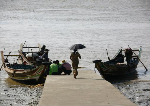 Rangoon River Deck, Myanmar