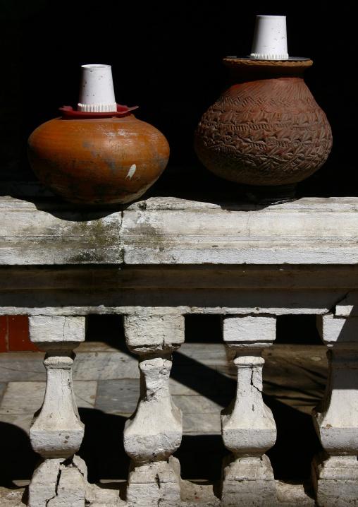Drinking Water Potteries In Rangoon, Myanmar