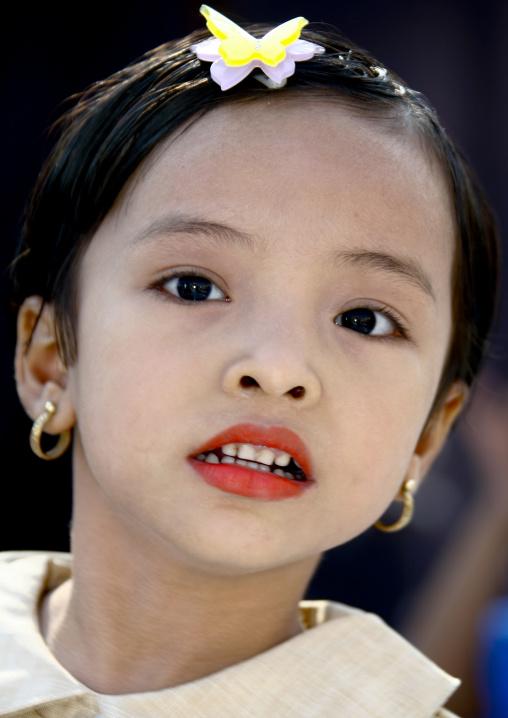Young Girl , Rangoon, Myanmar