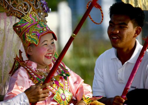 Novice Ceremony In Inle Lake, Myanmar
