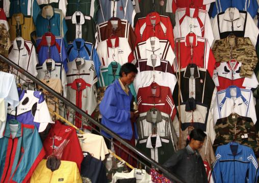 Taunggyi Clothes Market Myanmar