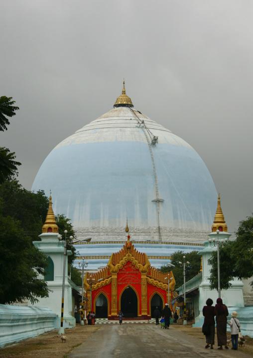Kaunghmudaw Paya Rajamanisula Pagoda, Sagaing, Mandalay, Myanmar
