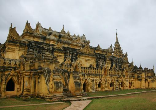 The Maha Aungmye Bonzan Monastery In Innwa , Myanmar