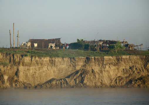 Irrawaddy River Banks, Myanmar
