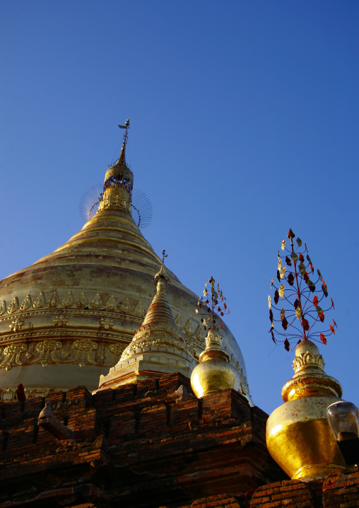 Temples and pagodas in bagan, Myanmar