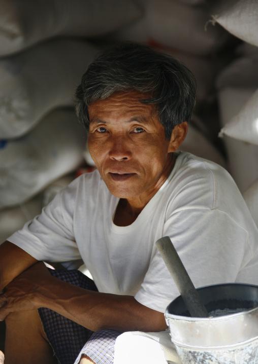 Man In Bagan, Myanmar