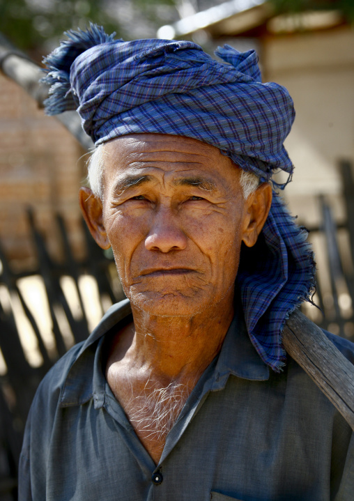 Man From Bagan, Myanmar