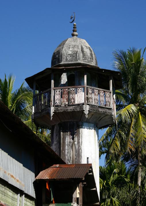Ngapali Minaret Mosque, Myanmar