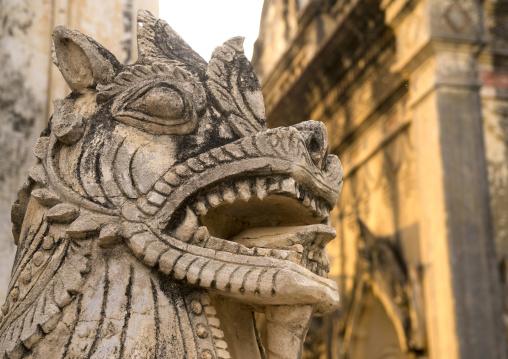 Dragon Statue In Ananda Paya, Bagan, Myanmar