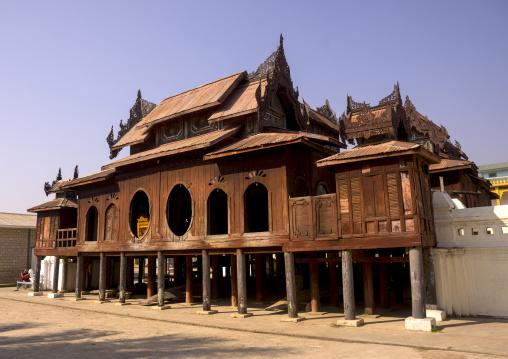 Shwe Yan Pyay Monastery, Inle Lake, Myanmar