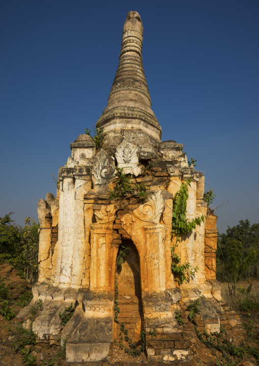 Shwe inn thein paya temple, Inle lake, Myanmar