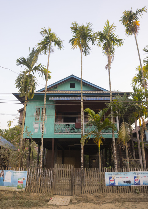 Old colonial house, Thandwe, Myanmar