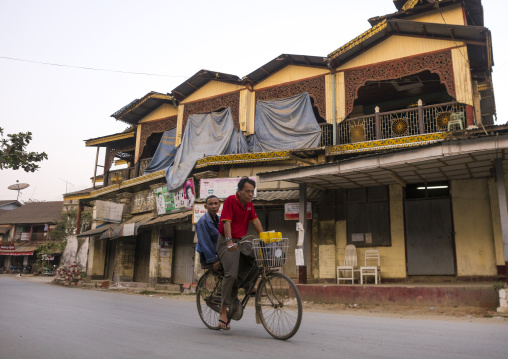Old Colonial Houses And Stores, Thandwe, Myanmar
