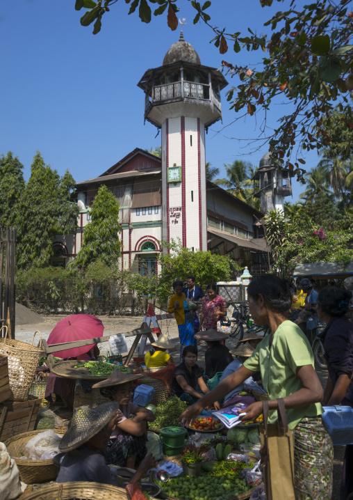 Old Mosque, Thandwe, Myanmar
