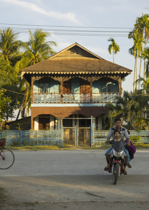 Old Colonial House, Sittwe, Myanmar