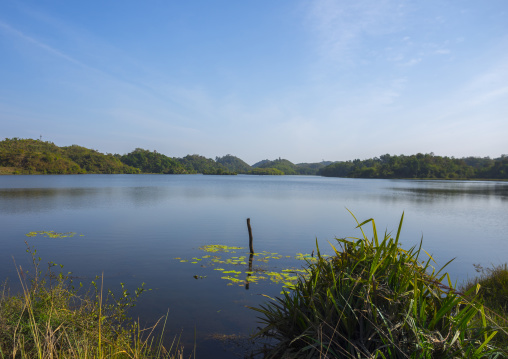 Lake, Mrauk U, Myanmar