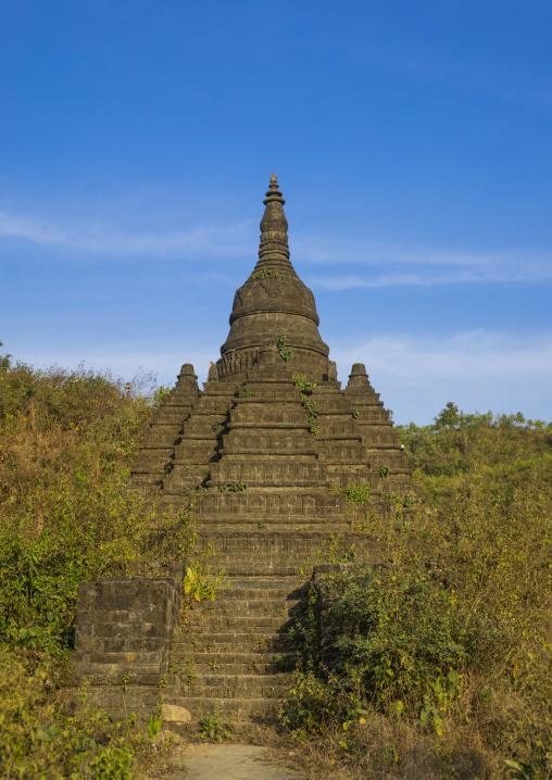 Buddhist Stupa, Mrauk U, Myanmar