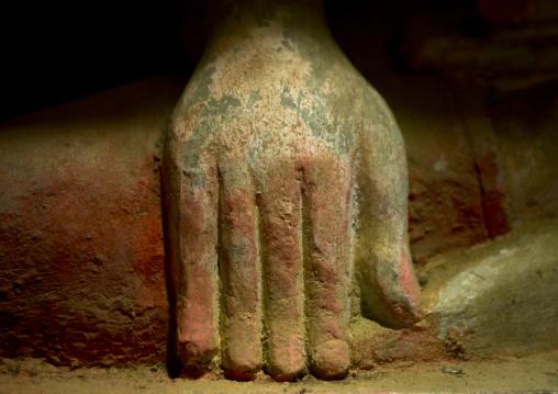 Buddha Hand In Htuk Kant Thein Temple, Mrauk U, Myanmar