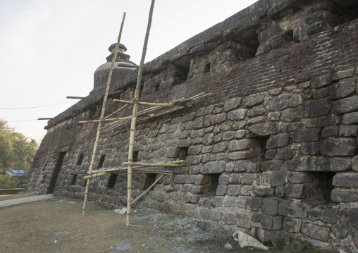 Temple Restoration, Mrauk U, Myanmar