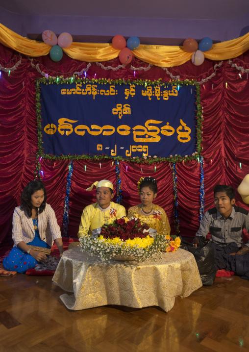 Wedding Ceremony In Chin Family, Mrauk U, Myanmar