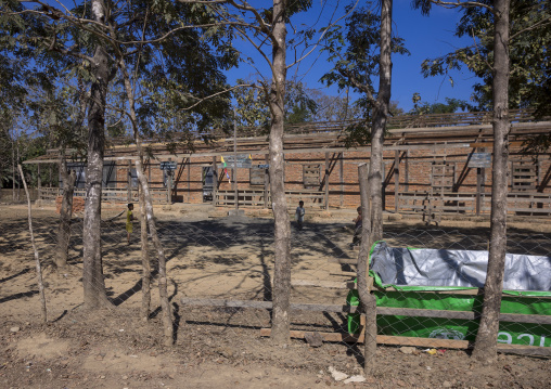 Building A New School, Mrauk U, Myanmar