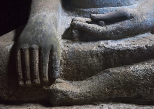Buddha Hand In Kothaung Temple, Mrauk U, Myanmar