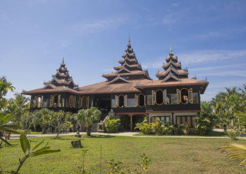 Mrauk oo princess resort, Mrauk u, Myanmar