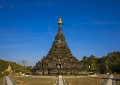 Sakyamanaung Paya Temple, Mrauk U, Myanmar