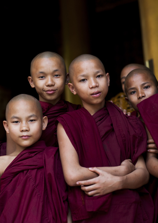 Group Of Novices, Yangon, Myanmar