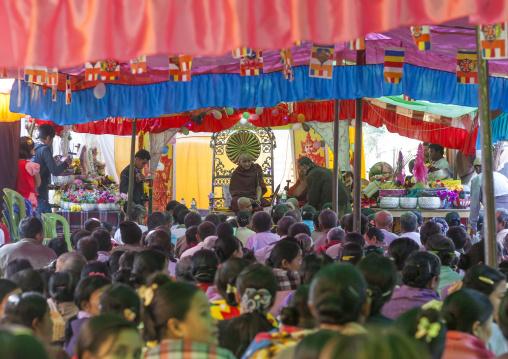 Novitation Ceremony, Mrauk U, Myanmar