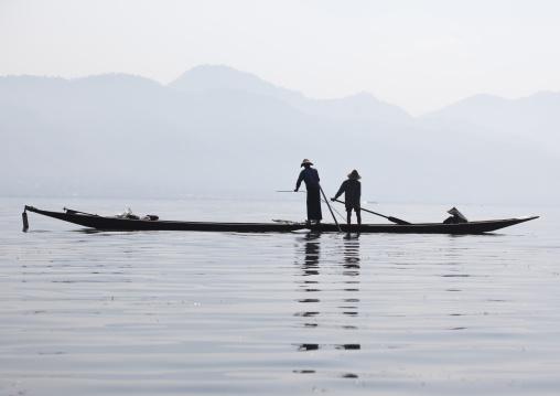 Traditional Fishermen, Inle Lake, Myanmar